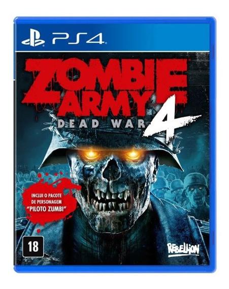 Zombie Army 4 Dead War - Ps4 - Novo - Mídia Física