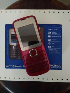 Celular Nokia C2 00 * Defeito Na Tela