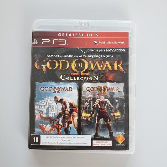 God Of War Collection Ps3 Midia Física