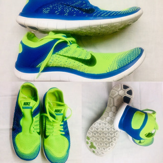 Zapatillas Nike Hombre Running Free Flyknit 4.0 Talle 42 Pv