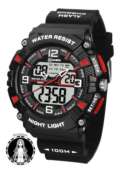 Relógio Xgames Anadigi - Xmppa250 Bxpx C/ Nf E Garantia O