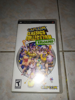 Capcom Classics Collection Reloaded Psp