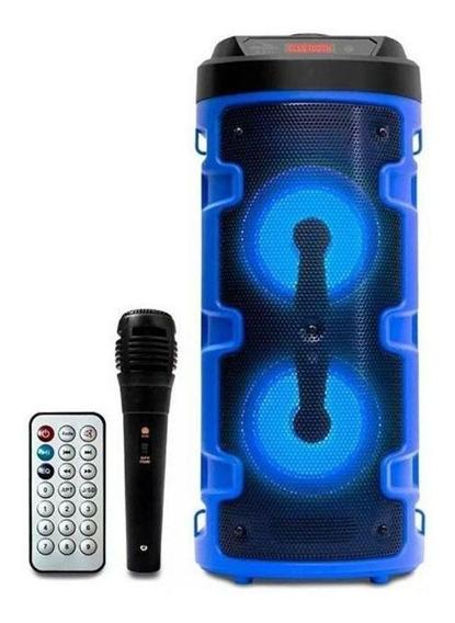 Caixa de som Grasep D-S14 portátil sem fio Azul