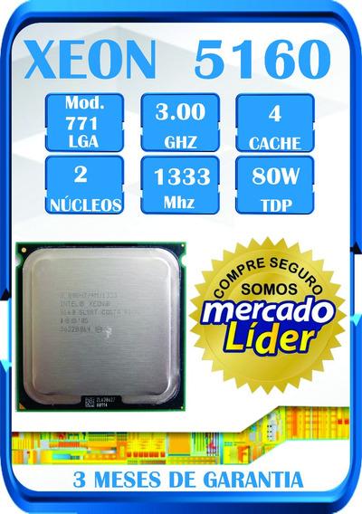 Processador Intel Xeon 5160 3.00 Ghz 4m 1333 Lga771 ¨