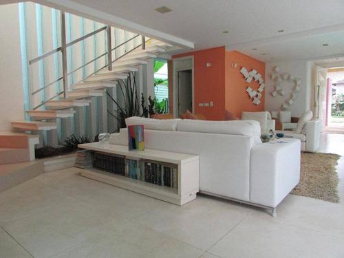 Casa Pé Na Areia Com 5 Suítes - Módulo 5 - Riviera De São Lourenço - Ca0539