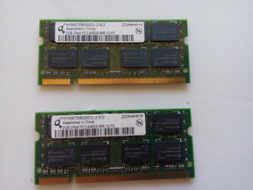 Kit 2 Memoria Para Notebook Pc2 6400 2gb