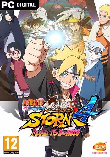 Naruto Shippuden Ultimate Ninja Storm 4 ( Mídia Física ) Pc