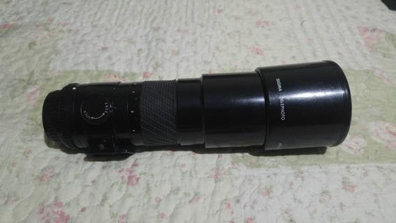 Lente Sigma 400mm 5.6 P/ Pentax