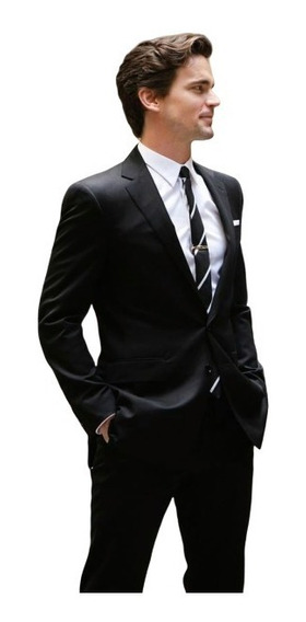 Kit Terno Microfibra Slim Paleto+calça+colete+camisa+gravata