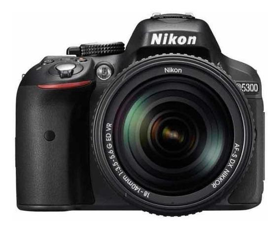 Camera Nikon D5300 + Lente 18-55mm.