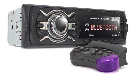 Radio Automotivo Bluetooth Auto Rádio Som Carro Mp3 Usb Fm