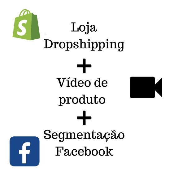Loja Dropshipping + Vídeo De Produto + Segmentação Para Facebook