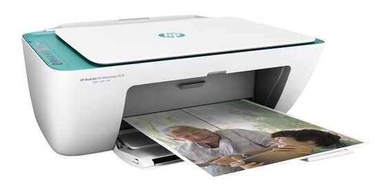 Impressora Hp Multifuncional Jato De Tinta 2676 Frete Grátis