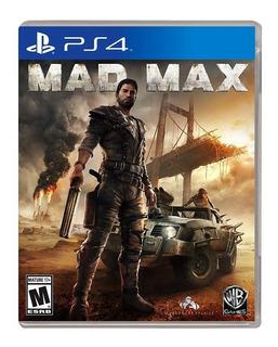 Mad Max Ps4 Nuevo Disponible