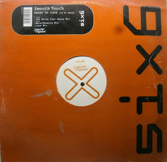 Smooth Touch House Of Love Vinilo Maxi Remixes