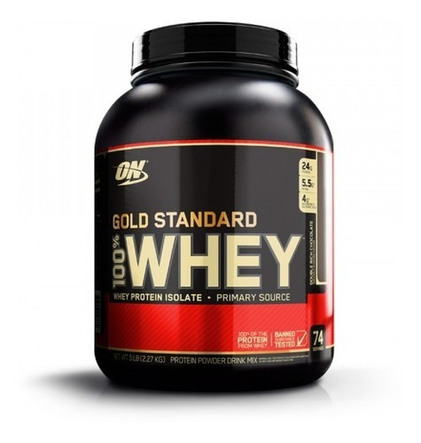 Proteína Whey Gold Standard On 5lbs Musculo Limpio