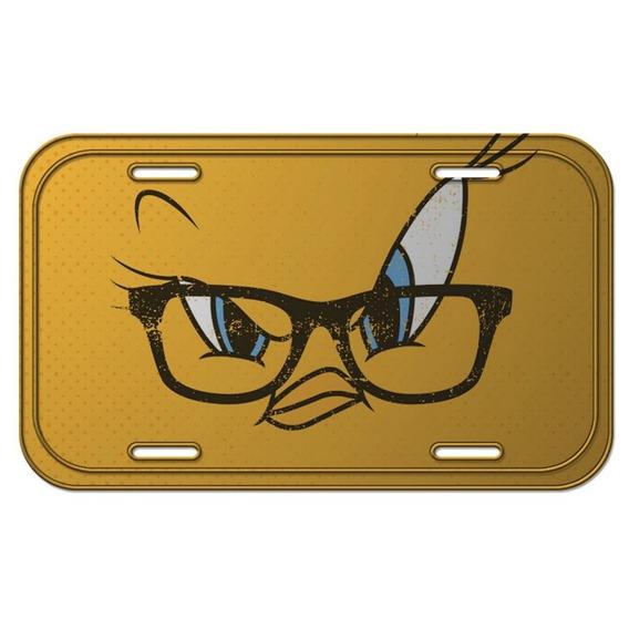 Placa De Metal Decorativa Looney Tunes Piu-piu