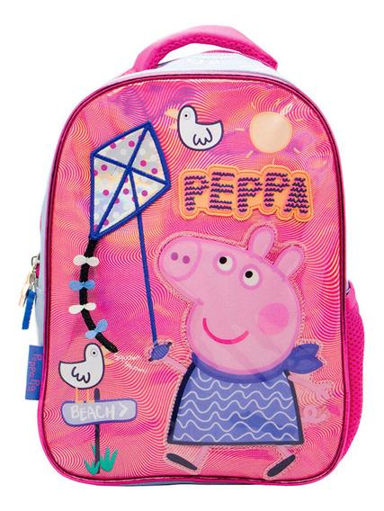 Mochila Peppa Pig 12 Espalda 2019 Escolar