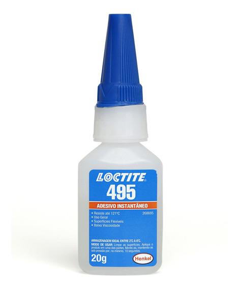 Adesivo Instantâneo 495 20g Loctite