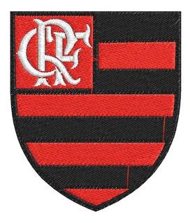Matriz De Bordado Escudo Clube De Regatas Do Flamengo