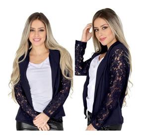 Blazer Feminino, Fashion, Ótima Qualidade E Tecido Casaco