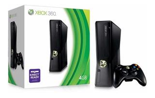 Xbox 360 Slim Completa + 25 Juegos + Mando + Kinect (hgr)