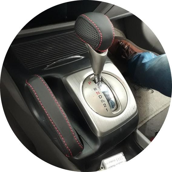 Capa Do Freio De Mão + Capa Da Manopla New Civic Automatico