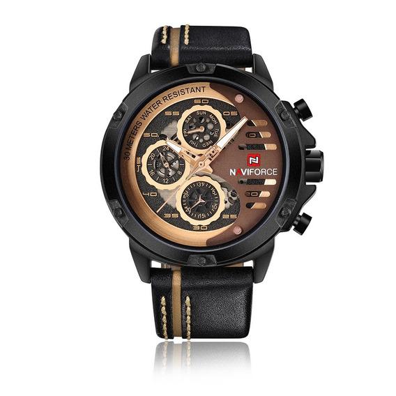 Reloj Naviforce Moda Casual Brown