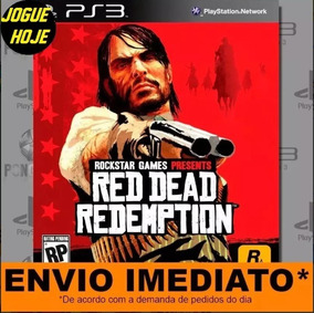 Jogo Ps3 Red Dead Redemption Play 3