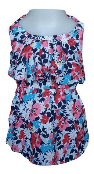 Blusa Floral T. Del 2 Al 16