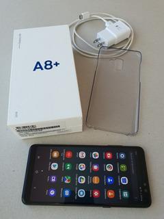Celular Samsung Galaxy A8 Plus 2018 32gb Liberado Impecable