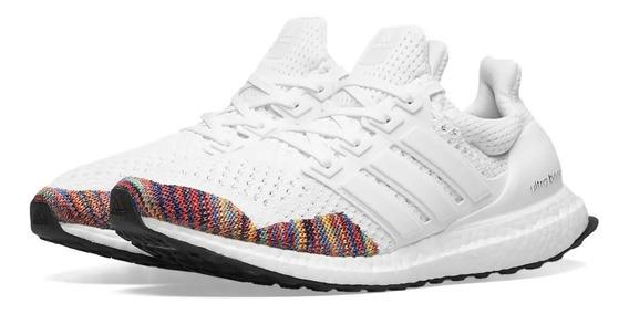 Tenis adidas Ultra Boost 1.0 Multicolor Toe White Original