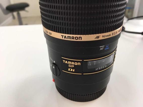 Lente Tamron Sp 90mm F/2.8 Di Macro P/ Sony Alpha E Minolta