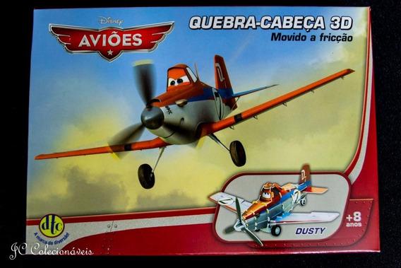 Quebra Cabeça 3d Aviões Dusty Movido A Fricção Dtc