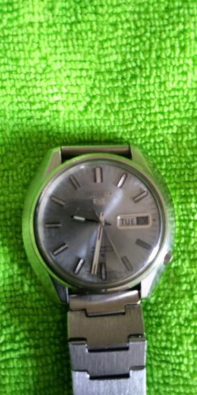 Relógio Seiko 6119 Azul Claro Leia A Descrição, Funcionando!