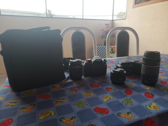 Vendo Kit Fotografico Canon Profissional Para Iniciante.