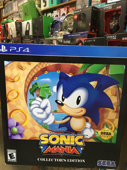 Sonic Mania: Collectors Edition - Ps4