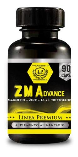 Zma Advance (mag+l Triptófano+zinc+b6) Estrés Y Pro Hormonal