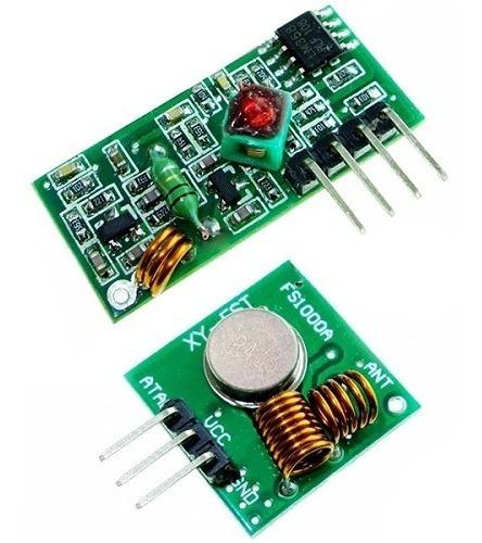 Kit Rf 433mhz Transmissor + Receptor P/ Arduino