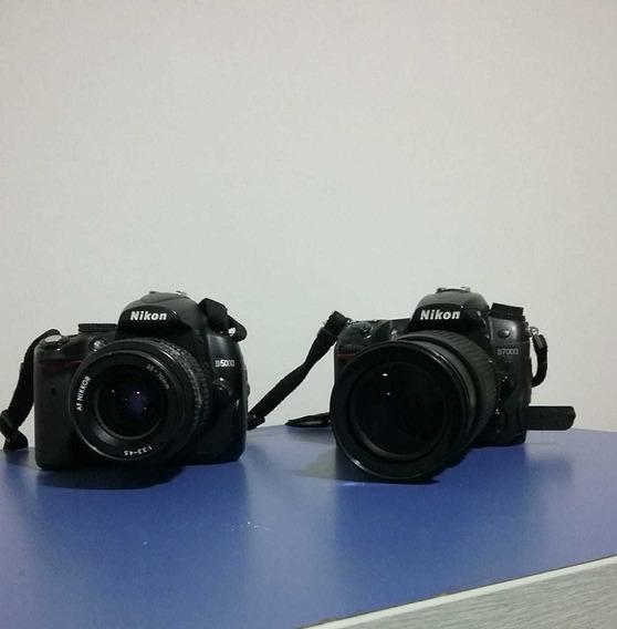 Câmera Nikon D7000 E D5000