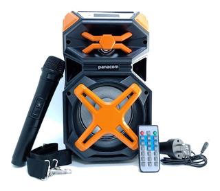 Parlante Bluetooth Panacom Sp3414wm Naranja Bluetooth Mic