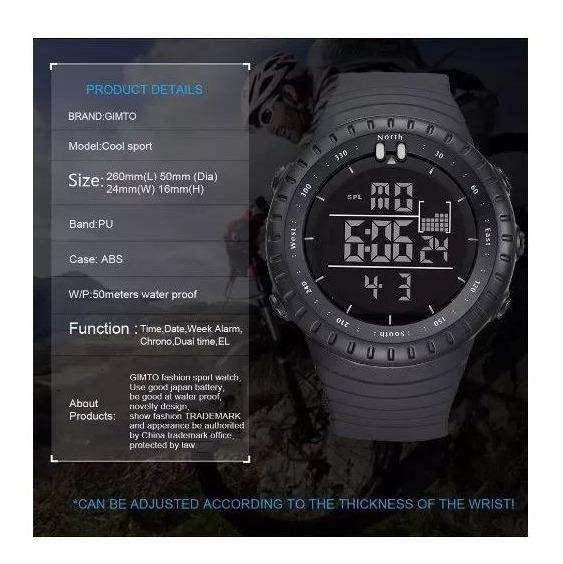 Relógio De Mergulho Masculino A Prova D