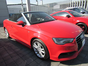 Audi A3 1.8 S Line Cabriolet At Rojo 2015