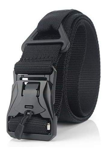 Cinturón De Hebilla Magnética Militar De Nylon Policial