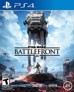 Star Wars Battlefront 1 Ps4 Nuevo Fisico En Español Od.st