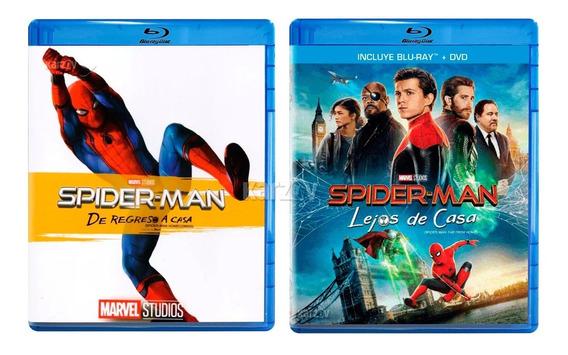 Spider-man Lejos De Casa + De Regreso A Casa Paquete Blu-ray