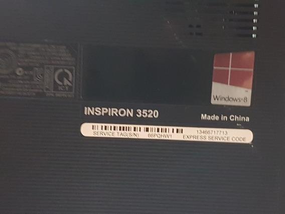 Laptop Dell Inspiron 3520 Para Repuesto