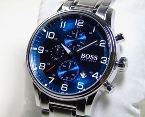 Relógio Masculino Hugo Boss Aeroliner Cronógrafo 1513183