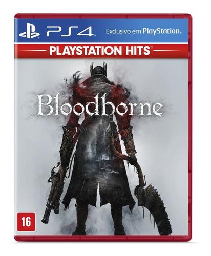 Imagem 1 de 4 de Jogo Bloodborne Hits - Ps4