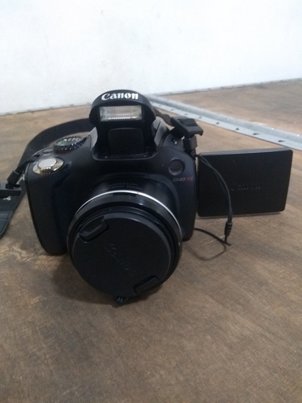 Câmera Canon Sx40 Super Zoom Power Shot (semi Nova).